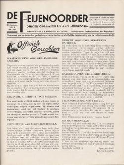 De Feijenoorder Juni 1941