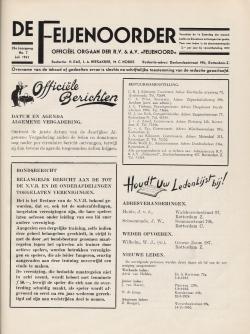 De Feijenoorder Juli 1941