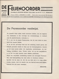 De Feijenoorder September 1941