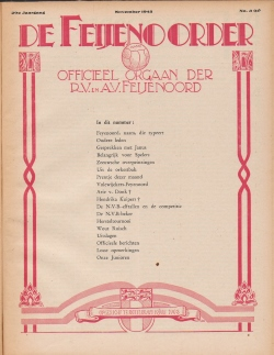 De Feijenoorder November 1945