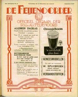 De Feijenoorder Augustus 1947