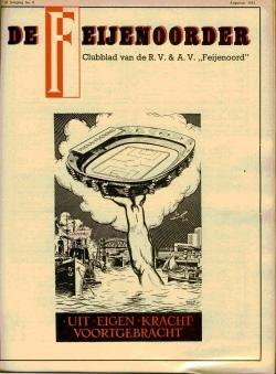 De Feijenoorder Augustus 1952