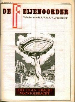 De Feijenoorder Februari 1954