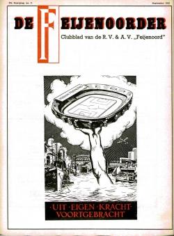 De Feijenoorder Augustus-September 1955