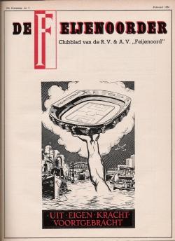 De Feijenoorder Februari 1956