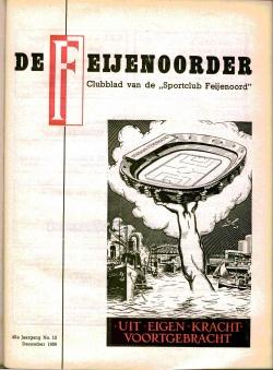 De Feijenoorder December 1956