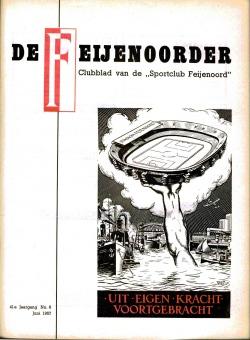 De Feijenoorder Juni 1957