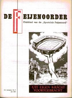 De Feijenoorder Juli 1957