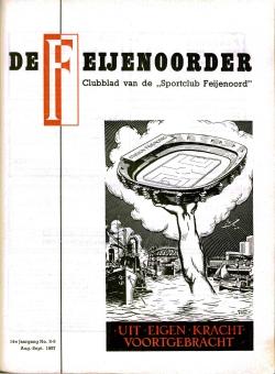 De Feijenoorder Augustus 1957