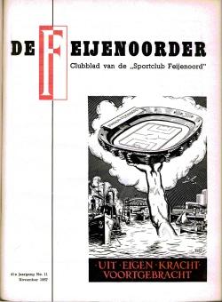 De Feijenoorder November 1957