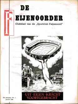 De Feijenoorder Januari 1958