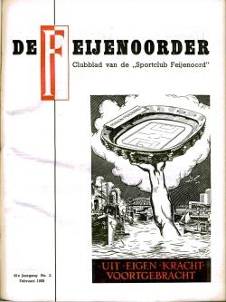 De Feijenoorder Februari 1958