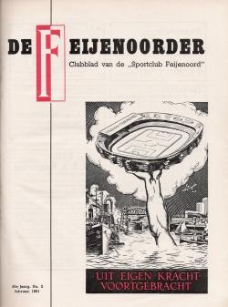 De Feijenoorder Februari 1961