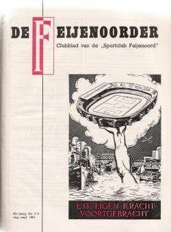 De Feijenoorder Augustus 1961