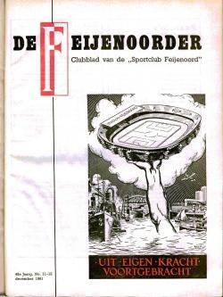 De Feijenoorder December 1961