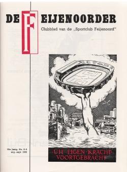 De Feijenoorder Augustus September 1968