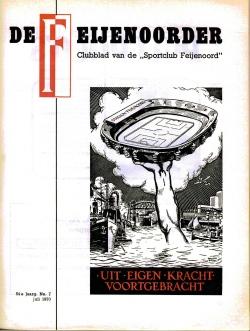 De Feijenoorder Juli 1970