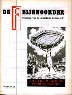 De Feijenoorder Augustus September 1970