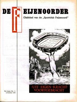 De Feijenoorder November 1970