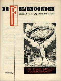 De Feijenoorder Februari 1971