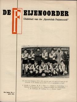 De Feijenoorder April 1971
