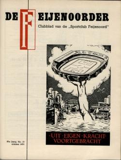 De Feijenoorder Oktober 1971