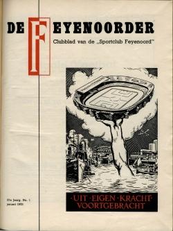De Feijenoorder Januari 1973