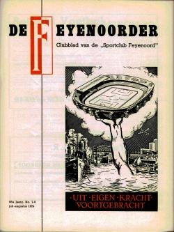 De Feijenoorder Juli Augustus 1974