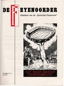 De Feijenoorder Juli 1975