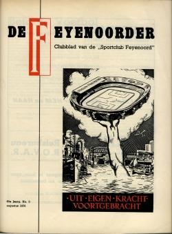 De Feijenoorder Augustus 1976