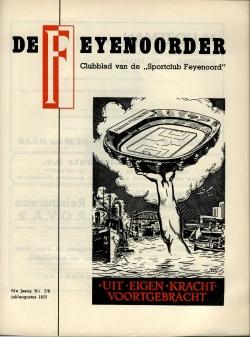 De Feijenoorder Juli-Augustus 1977