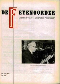 De Feijenoorder Juli 1978