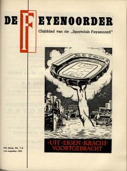 De Feijenoorder Juli Augustus 1979