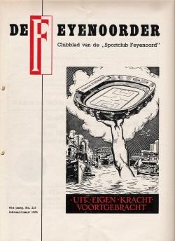 De Feijenoorder Februari Maart 1982