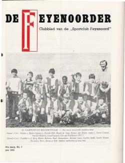 De Feyenoorder Juni 1982