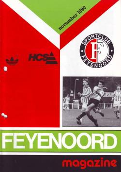 Feyenoord Magazine November 1990
