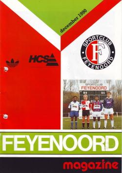 Feyenoord Magazine December 1990
