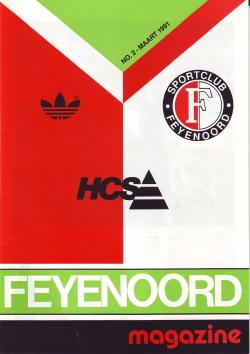 Feyenoord Magazine Maart 1991
