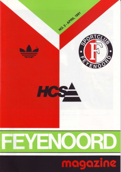 Feyenoord Magazine April 1991