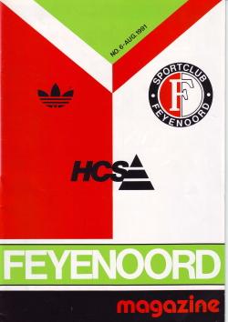 Feyenoord Magazine Augustus 1991