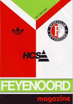 Feyenoord Magazine September 1991