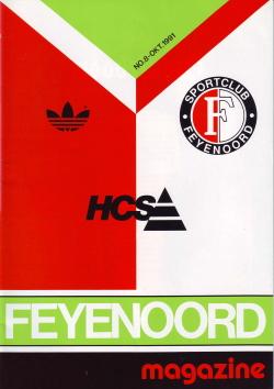 Feyenoord Magazine Oktober 1991