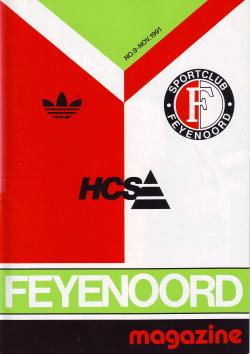 Feyenoord Magazine November 1991