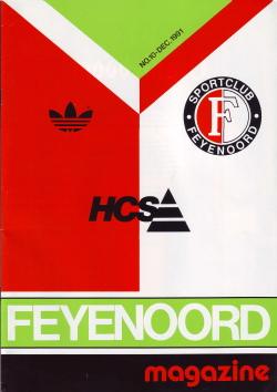Feyenoord Magazine December 1991