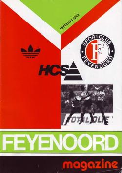 Feyenoord Magazine Februari 1992