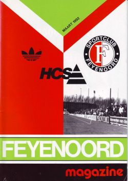 Feyenoord Magazine Maart 1992
