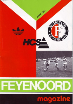 Feyenoord Magazine April 1992