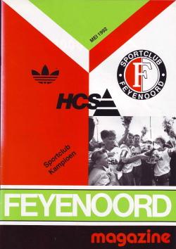 Feyenoord Magazine Mei 1992