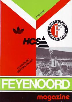 Feyenoord Magazine Juni 1992