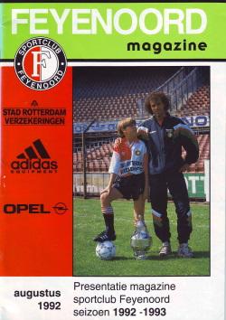 Feyenoord Magazine Augustus 1992